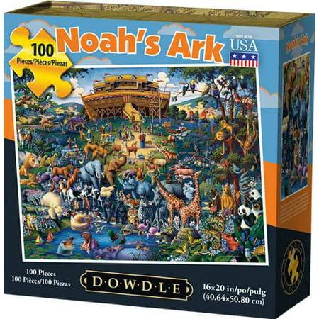 Dowdle Jigsaw Puzzle - Noah's Ark - 100 Piece](50 Piece Puzzles)