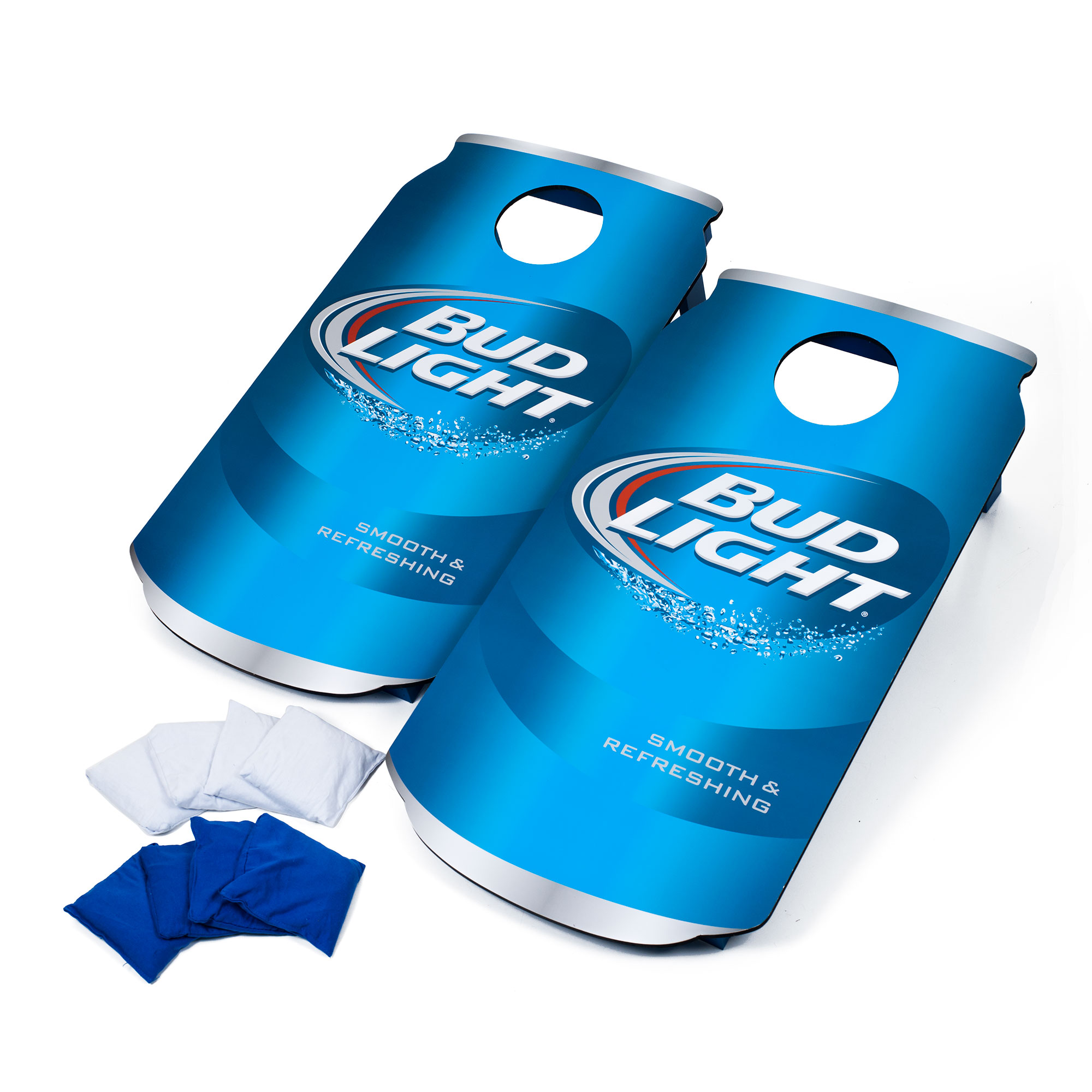 Officially Licensed Cornhole Sets (Budweiser, Bud Light, Coca-Cola, Corona, Miller Lite) by Trademark Global LLC