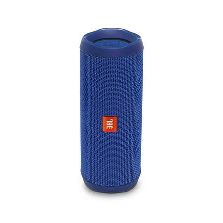 jbl flip 4 blue open box portable bluetooth speaker. Black Bedroom Furniture Sets. Home Design Ideas