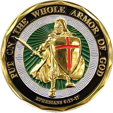 Armor of God Commemorative Coin ()