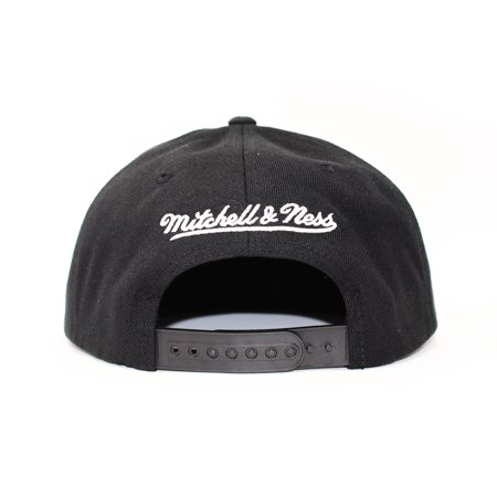 Mitchell and Ness Toronto Raptors Dark Hologram Black Snapback Hat - image 4 of 5