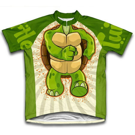 Turtle Microfiber Short-Sleeved Cycling Jersey, Assorted Sizes ()