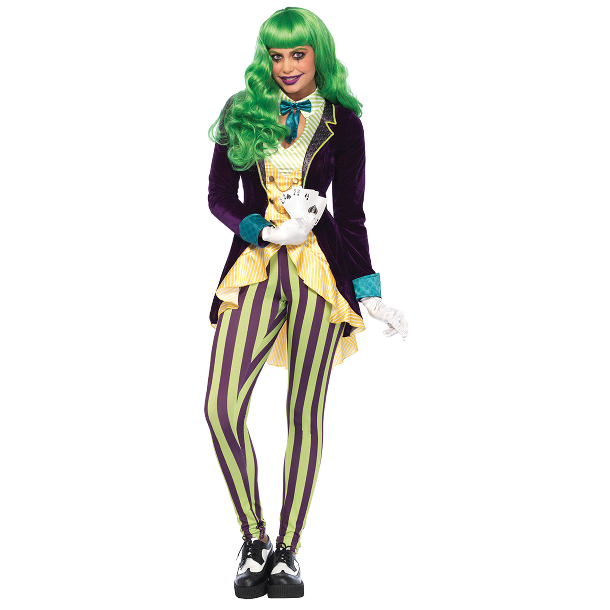 Morris Costumes Joker Wicked Trickster Small