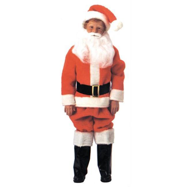 MorrisCostumes AE11 Santa Suit Child, 14-16