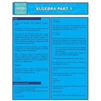 Algebra Part 1 (Speedy Study Guides : Academic)