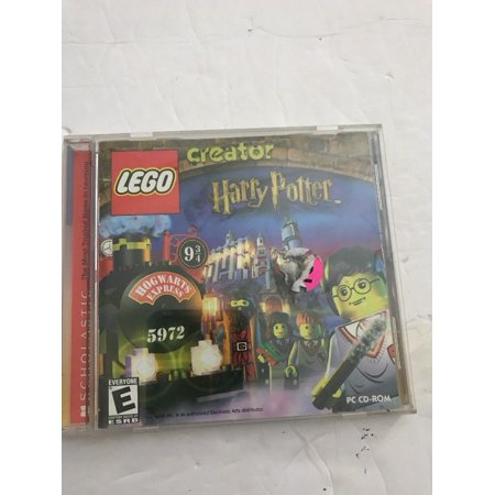 - LEGO CD ROM GAMES•CREATOR HARRY POTTER & ALPHA TEAM Windows Ships N 24hrs