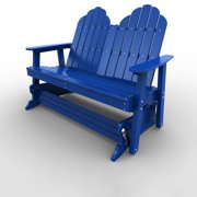 Double Glider by Malibu Outdoor - Yarmouth, Blue