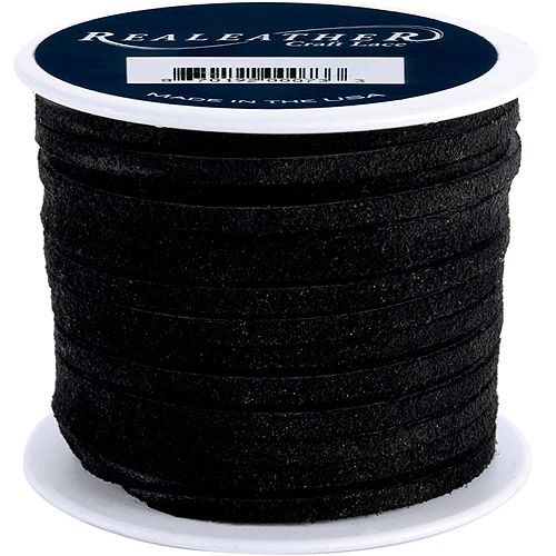 """Suede Lace 1/8"""" 25 Yard Spool"""
