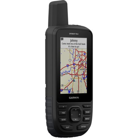 "Garmin GPSMAP 66st, Handheld Hiking GPS with 3"" Color Display, TOPO Maps and GPS/GLONASS/Galileo"
