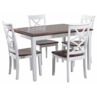 Powell Harrison 5-Piece Dining Set, Multiple Finishes