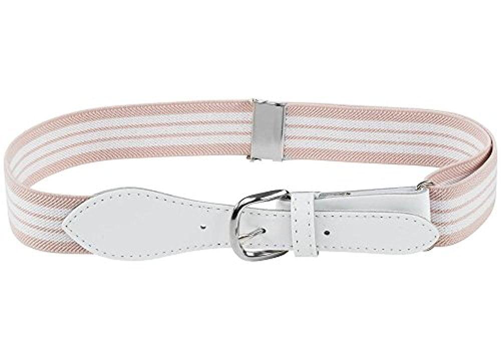 Buyless Fashion Kids Girls Elastic Adjustable Stretch Belt with Leather Closure