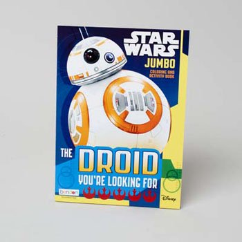 COLORING BOOK STAR WARS 7 96 PAGES IN 24PC DISPLAY BOX, Case Pack of 24