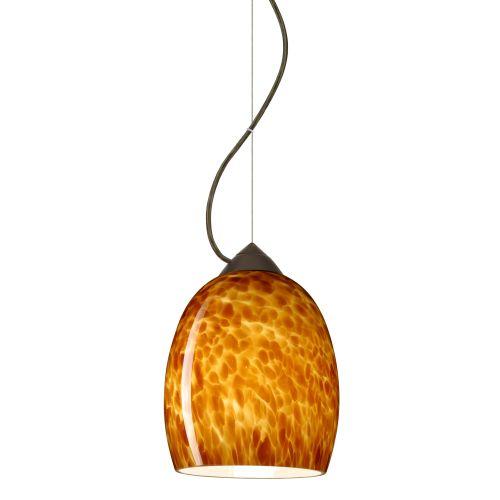 Besa Lighting 1KX-169718 Lucia 1 Light Cable-Hung Pendant...