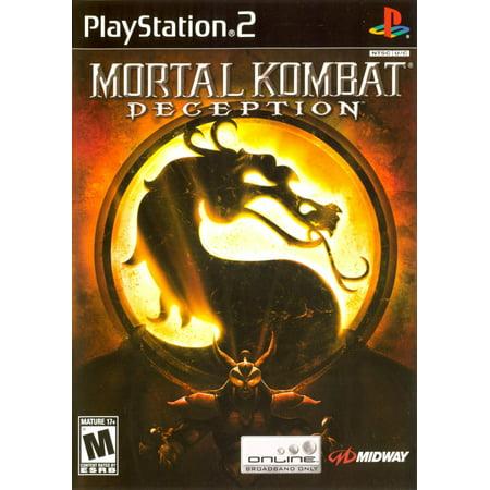 Mortal Kombat: Deception - PS2 (Refurbished)