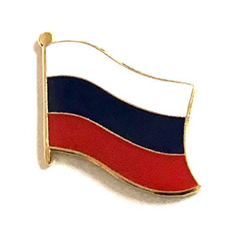 RUSSIA Country Flag Metal lapel PIN BADGE ..NEW