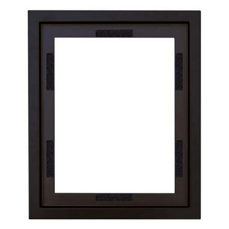MCS Black Wood Canvas Floating Frame, 11 x 14 Inches