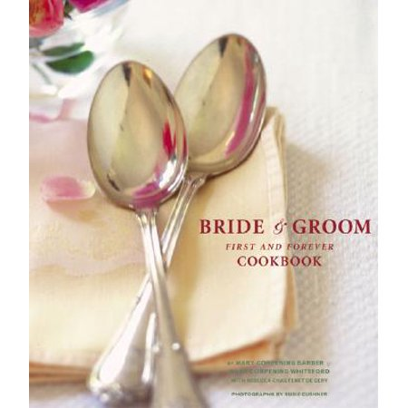 Bride Dragging Groom - The Bride & Groom First and Forever Cookbook