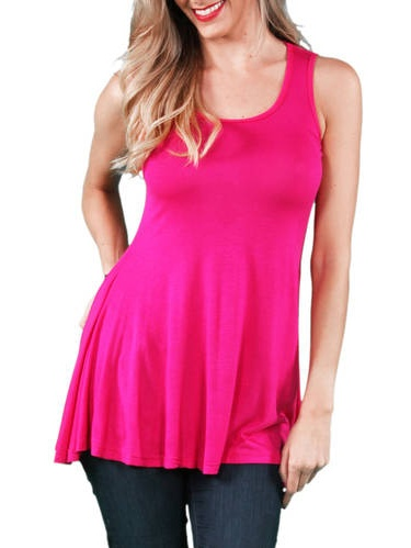 Women's Sleeveless Tunic Tank