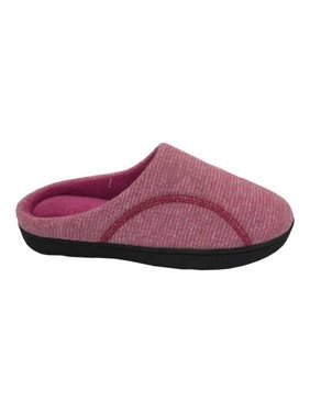 c79955a179e9f1 Product Image Isotoner Women s Athena Jersey Hoodback With 360 Surround Comfort  Slipper