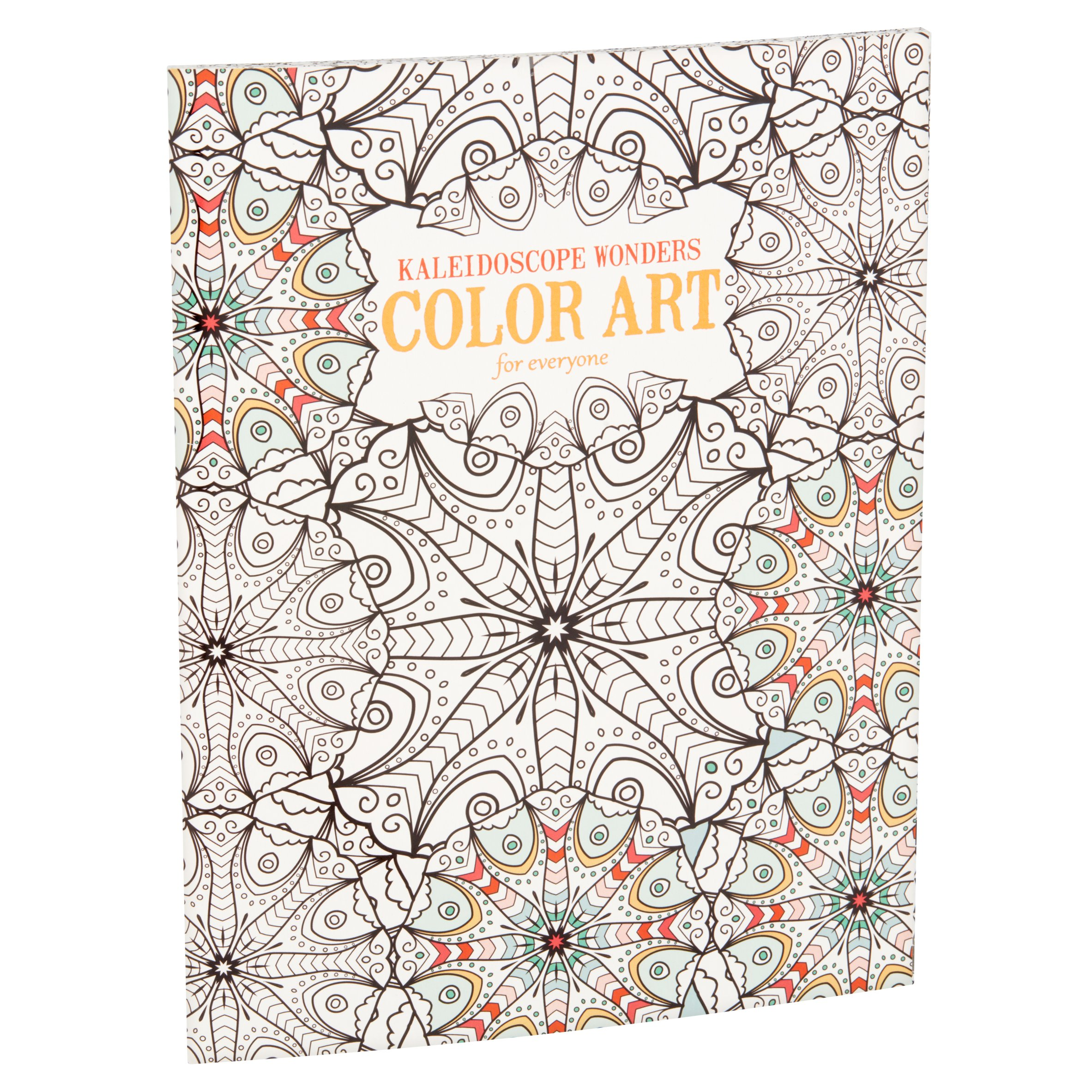 Kaleidoscope Wonders Color Art For Everyone Coloring Book