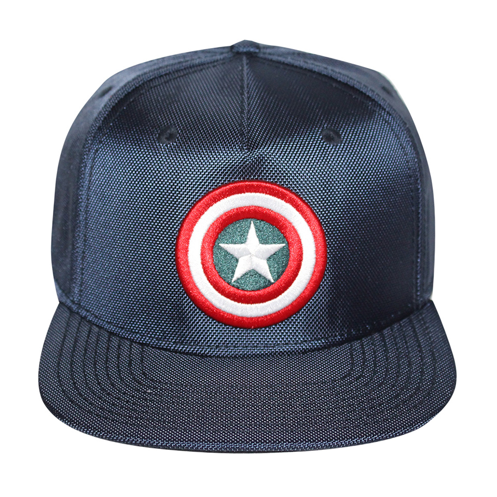Bioworld Blue Licensed Captain America Shield Logo Snapback Hat 30946eabba9