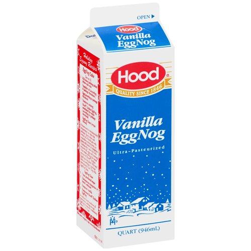 Hood Ultra- Pasteurized Vanilla Egg Nog, 1 Quart