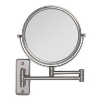 ($60 Value) Zadro Two-Sided Dual-Arm Wall Mount Mirror with 1x & 5x Magnification