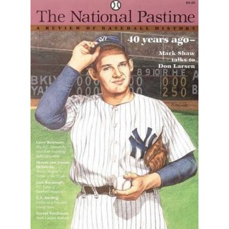 The National Pastime  Volume 16  A Review Of Baseball History