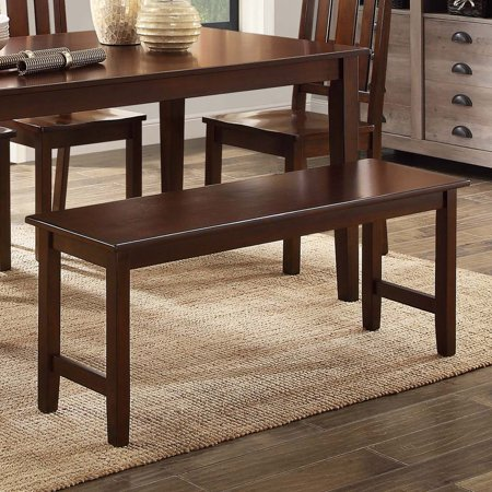 Better Homes & Gardens Bankston Dining Bench, Mocha