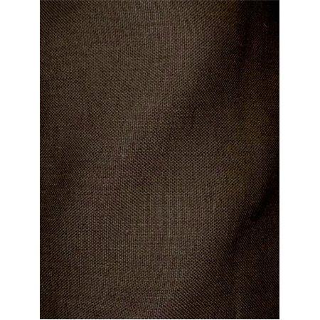 """Brussels Linen, 663 Espresso, Linen Upholstery Fabric, 10 yard Bolt, 54"""" Wide"""