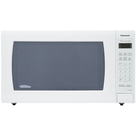 Panasonic Countertop Microwave Oven with Genius Sensor Cooking and 1250 Watts of Cooking Power - NN-SN946W – 2.2 cu. ft (white)