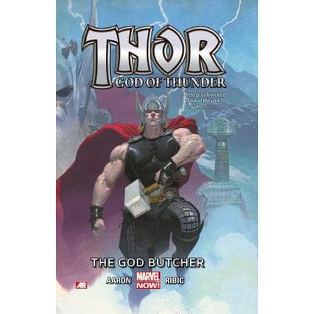 Thor: God of Thunder Volume 1 : The God Butcher (Marvel Now) - Kiss God Of Thunder Halloween