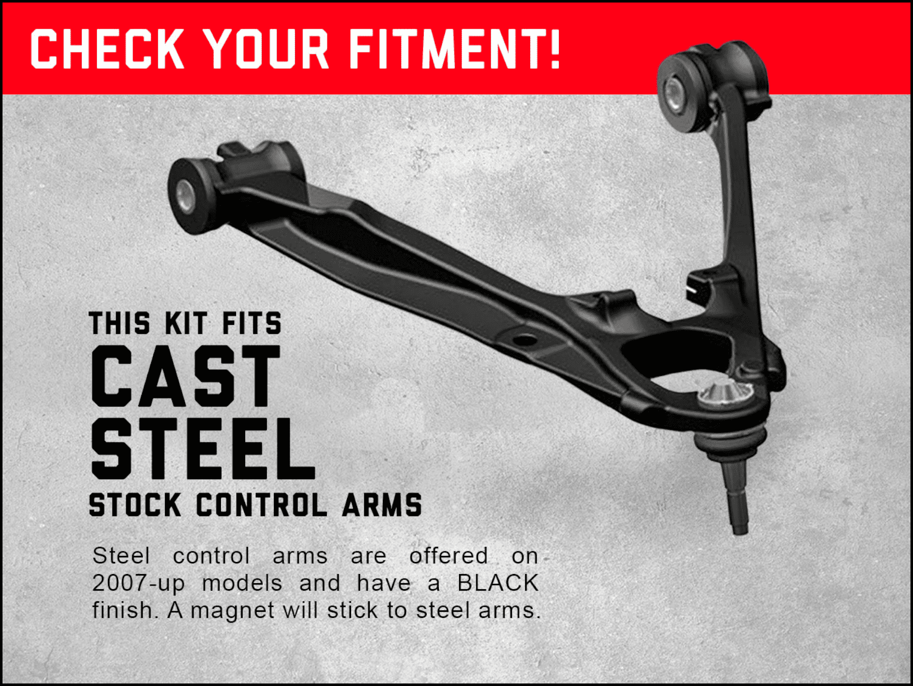 Rough Country 19401 Forged Control Arms