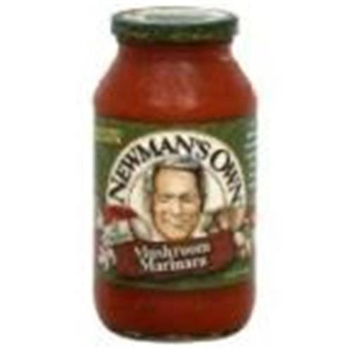 Newmans Own 39485 Newmans Own Marinara Pasta Sauce With Mushrooms - 12x24 Oz