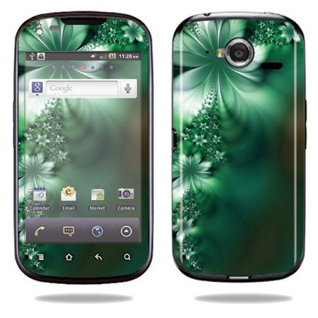 Mightyskins Protective Vinyl Skin Decal Cover for Pantech Burst P9070 Cell Phone At&t wrap sticker skins Abstract Flower