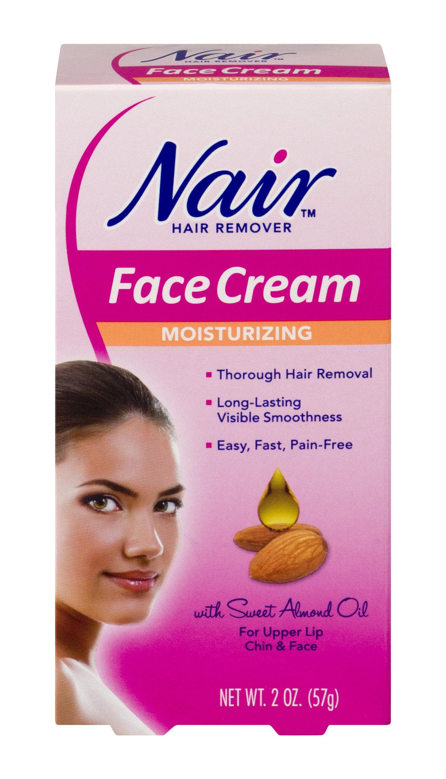 Nair Hair Remover Face Cream Moisturizing For Upper Lip Chin