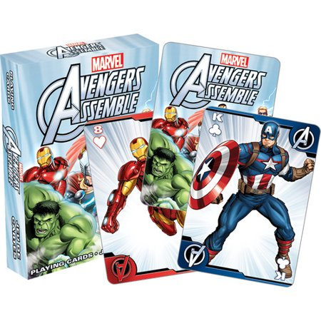 Avengers Assemble Youth Playing Cards](Avengers Cards)