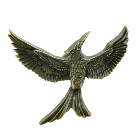 The Hunger Games Part 2 Gold Mockingjay - Buy Mockingjay Pin