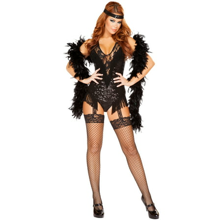 Adult 1920's Party Flapper Sexy Costume - 1920s Prohibition Costume