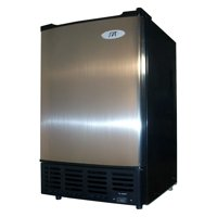 Sunpentown Under-the-Counter Thermo-Electric Ice Maker, Stainless Steel