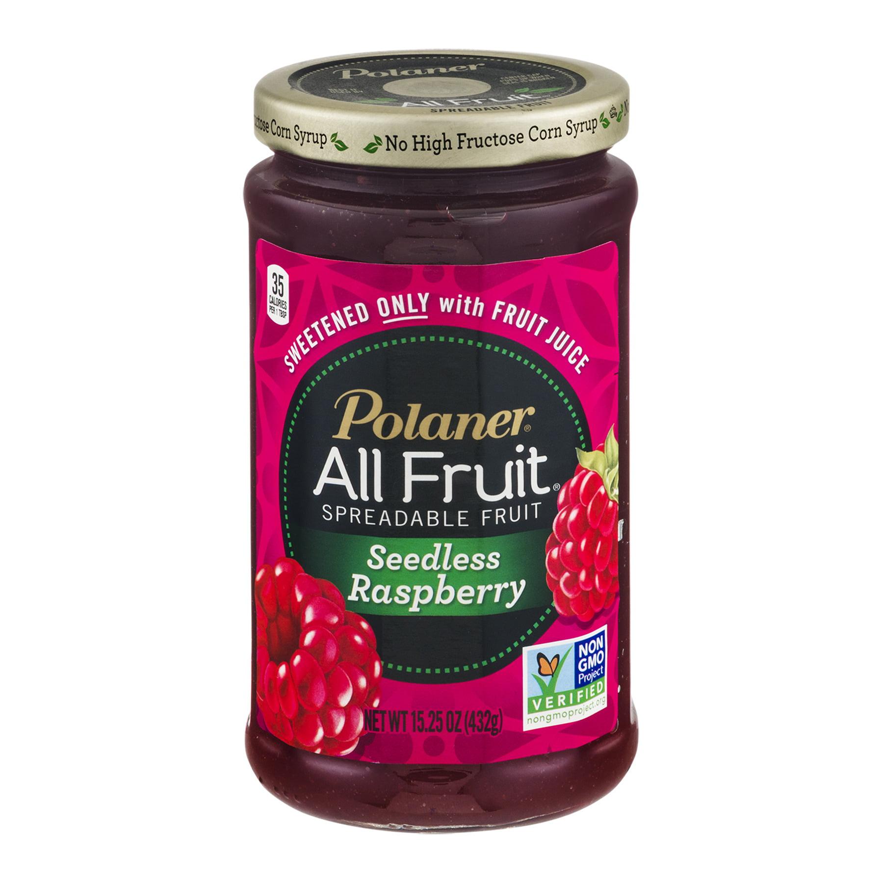 Polaner® All Fruit® Seedless Raspberry Spreadable Fruit 15.25 oz. Jar