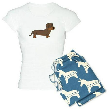 39eaa566cede CafePress - Personalized Cute Dachshund Women s Light Pajamas ...