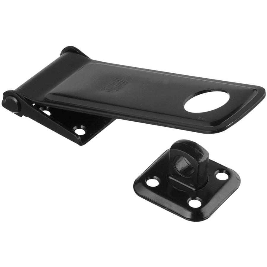 """Stanley Hardware 754551 2-1/2"""" Black Safety Hasps"""