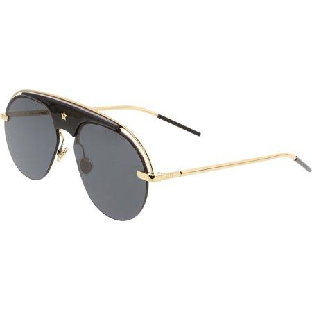Dior Women's Evolution EVOLUTION-02M2-M2 Gold Oval Sunglasses