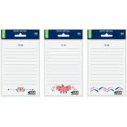 "Wal-Mart Self Stick Notes, 4"" x 6"""