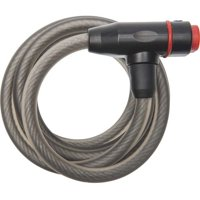 Bell Sports BALLISTIC 100 6' x 8mm Cable Bicycle Lock, Black