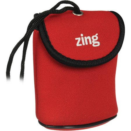 Zing Designs Camera Pouch, Medium (Red)*AUTHORIZED ZING USA DEALER*