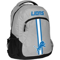 Forever Collectibles NFL Detroit Lions Action Stripe Logo Backpack