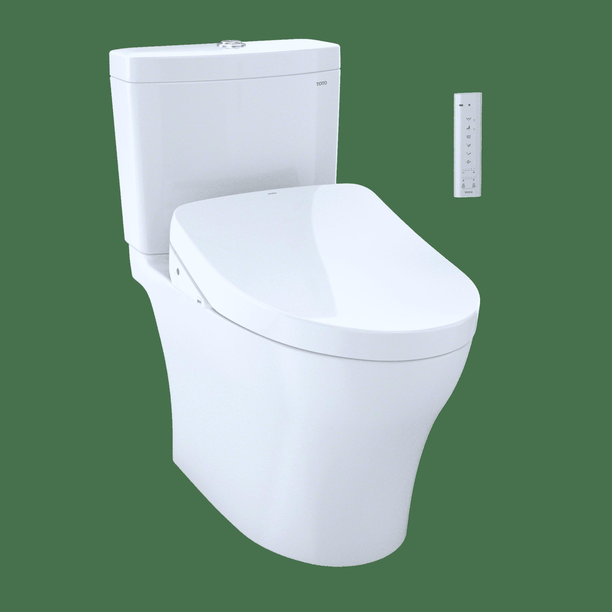 TOTO WASHLET+ Kit Aquia IV 1G Two-Piece Elongated Dual Flush 1.0 and ...