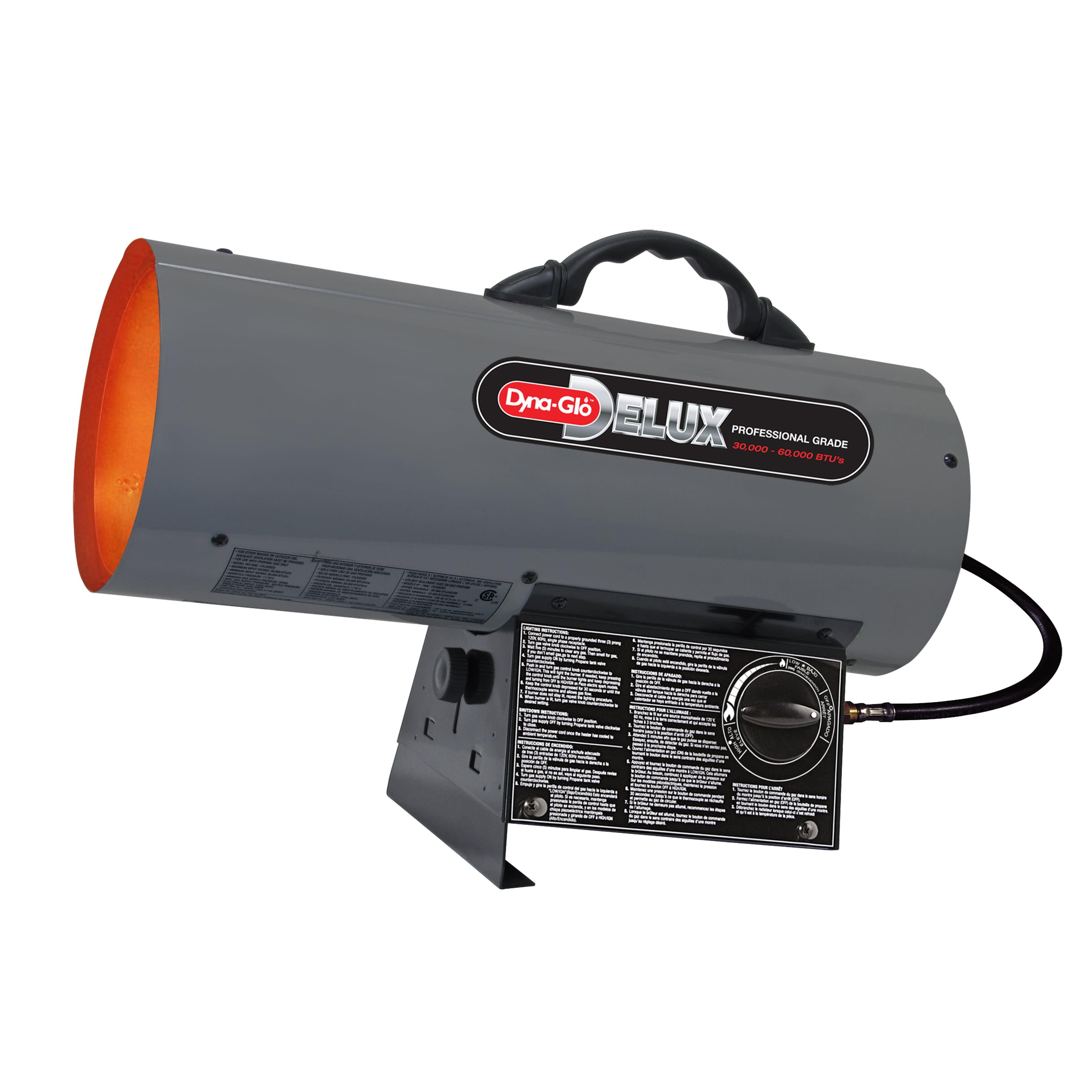 Dyna-Glo Pro 60K BTU Forced Air Propane Portable Heater